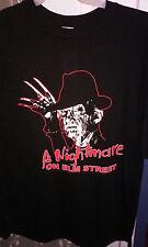 XL A Nightmare on Elm Street T-shirt - Freddy Kreuger, semi-vintage, NEW HORROR