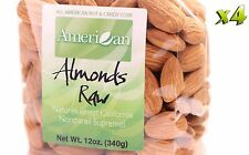 48oz Gourmet Style Bags of Raw Californian Supreme Almonds [3 lbs.]