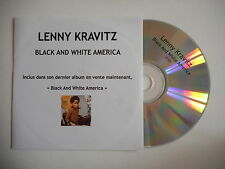 LENNY KRAVITZ : BLACK AND WHITE AMERICA [ CD SINGLE ] ~ PORT GRATUIT !