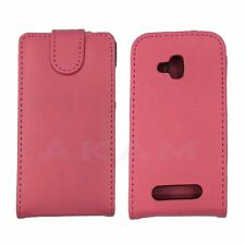 PU Leather Smart Top Flip Case Cover For Nokia Lumia 610