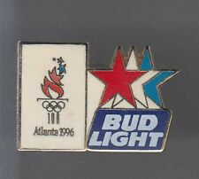 RARE PINS PIN'S .. OLYMPIQUE OLYMPIC USA 1996 BIERE BEER BUDWEISER LIGHT ~12