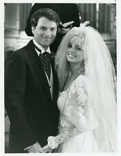 TERI COPLEY SMILING BRIDE TIMOTHY DALY I MARRIED A CENTERFOLD 1988 NBC TV PHOTO