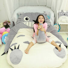 Xmas Cute Huge Giant Totoro Bed Carpet Tatami Mattress Sofa Filled Great gift
