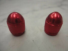 Red Front and Rear Wheel Valve Stem Caps for Honda Dirt Bikes  Motorcycles