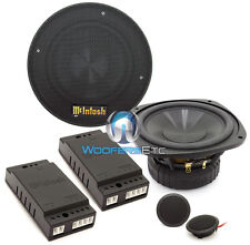 "MSS530 MCINTOSH 5.25"" 2-WAY COMPONENT PRO SPEAKERS MIDS TWEETERS CROSSOVERS NEW"