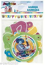 DOODLEBOPS HAPPY BIRTHDAY BANNER ~ Party Supplies Room Decorations Disney PBS