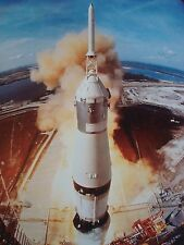 APOLLO 11 LIFT OFF 1ST ONE ON MOON LIFE MAGAZINE 1969 PHOTO 8X10 SMALL POSTER