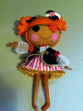 LALALOOPSY  Peggy Seven Seas Pirate Full Size Doll w/Eye Patch