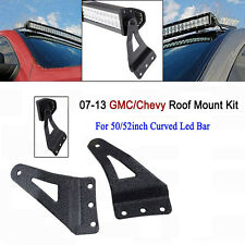 New Hot 50/52inch Curved Led Light Bar Mounting Bracket For  GMC/Chevy Car
