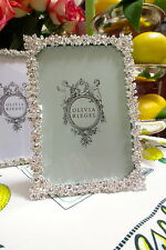 "Olivia Riegel Princess Swarovski Crystal 4"" x 6"" Photo Frame  NEW! In Box!"