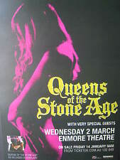 Queens Of The Stone Age Laminated Promotional Tour Poster