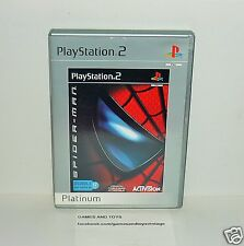 JEU PS2 PLATINUM COMPLET SPIDERMAN