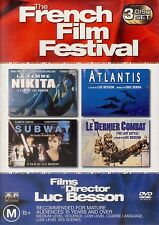 French Film Festival La Femme Nikita Atlantis Subway Le Dernier Combat DVD NEW