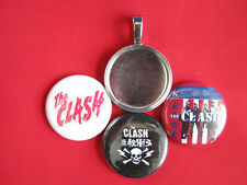 "The Clash Handmade changeable Magnetic multi-color Pendant 18""  Necklace"
