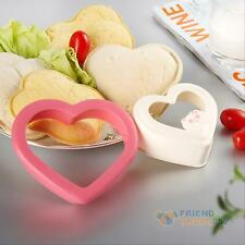 DIY Heart Sandwich Toast Cookie Cutter Mold Cake Bread Bento Maker Mould Tool