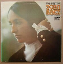 LP Joan Baez ‎– The Best Of Joan Baez Uk 1968 Saga Eros Ex Folk Blues Country