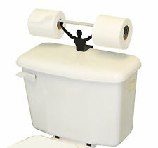 Strong Man Funny Bathroom Toilet Paper Tissue Roll Holder Weightlifter Novelty