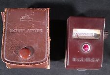 "~ VINTAGE ~ ""WALZ PRESET M-1"" MOVIE LIGHT METER WITH RARE CASE - WORKING ORDER"