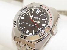 Man's Fashion VOSTOK Russian military Amphibian diver 200m. auto watch VA 710916