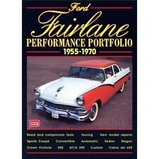 Ford Fairlane Performance Portfolio 1955-1970 book paper