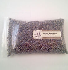 1 oz. Lavender Flowers Whole (Lavandula Officinalis)  28 g / .063 lb  Dried Tea