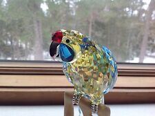 "Swarovski GREEN ROSELLA #901601 RETIRED ""CRYSTAL PARADISE COLLECTION"""