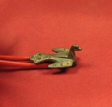 Ancient Roman Enameled Bird Fibula or Brooch, 2. Century - Zoomorph!