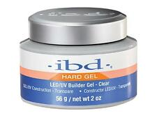 1 pc IBD Clear LED/UV Builder Gel DEL/UV Construction Transparent 56 g 2oz 61178