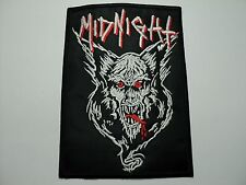 MIDNIGHT  EMBROIDERED PATCH