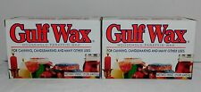 1 LB Gulf Wax Household Paraffin Wax for Canning Candlemaking Beauty Lot of 2