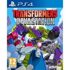 Transformers Devastation PS4 Game Brand New