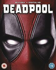 BLU-RAY  DEADPOOL          BRAND NEW SEALED GENUINE UK STOCK