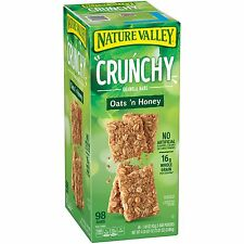 Nature Valley Crunchy Oats n Honey Granola Bar 98ct