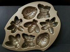 Nordic Ware Backyard Bugs Cakelet Baking Cake Pan Mold Butterfly Ladybug Bee