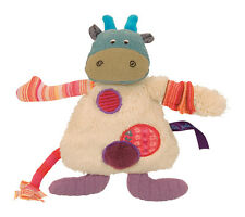 Moulin Roty Les Jolis pas Beaux 20 cm Plush Cow Soft Toy from Wyestyles