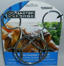 Master Forge BEER CAN CHICKEN ROASTER  Perfect for Grill or Oven
