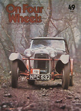 On Four Wheels magazine Vol.4 Issue 49 featuring Humber Sceptre, Hudson, HRG