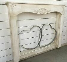 Antique inspired french country mantle with surrounds...60 inches by 50 tall