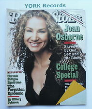 ROLLING STONE MAGAZINE - Issue 730 March 21st 1996 - Joan Osborne / Bill Maher
