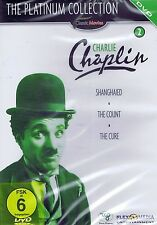DVD NEU/OVP - Charlie Chaplin - The Platinum Collection 2 - Shanghaied u.a.
