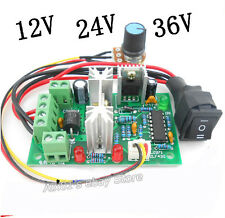 10V-36V DC Motor Speed Controller Reversible PWM Regler Forward/Reverse Switch