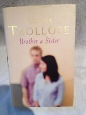 Signed First Edition First Printing Brother & Sister Joanna Trollope