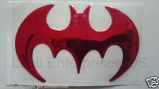 Batman Superhero LOGO 3D Soft Car Bike SUV Sedan Laptop Badge Emblem Sticker