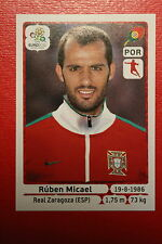Panini EURO 2012 N. 271 PORTUGAL MICAEL  NEW With BLACK BACK TOPMINT!!