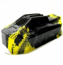 BS213-036Y 1/10 Scale RC Nitro Monster Truck Body Shell Cover Yellow