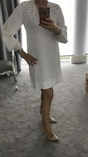 Diane Von Furstenberg DVF Cream Arria Dress US6/UK10