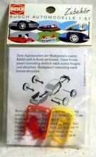 BUSCH Smart 48991 HO (1/87): Bodypanels rood & geel