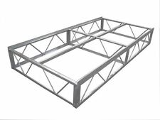 4x8' Patriot Dock Frame Assembly - Aluminum truss
