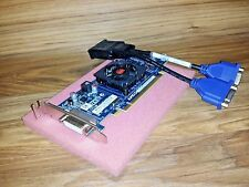 512MB Low Profile SFF Dual Monitor Video Card for HP Pavilion s5-1126 s5-1128p