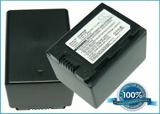 3.7V battery for Samsung HMX-H204BN, HMX-S16, SMX-F40RN, SMX-F43BN, HMX-H200BP